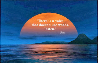 There is a voice, Rumi Quotes