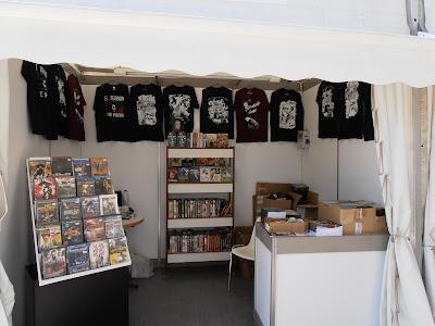 Stand de El Terror Tiene Forma en Sitges 2012