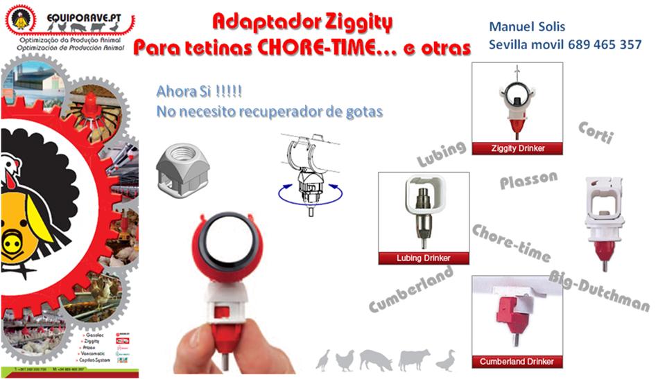 Material Av�cola: Ziggity se adapta a todo