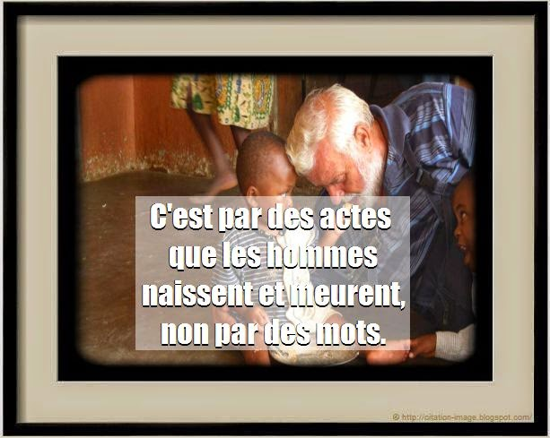 Citation acte en image