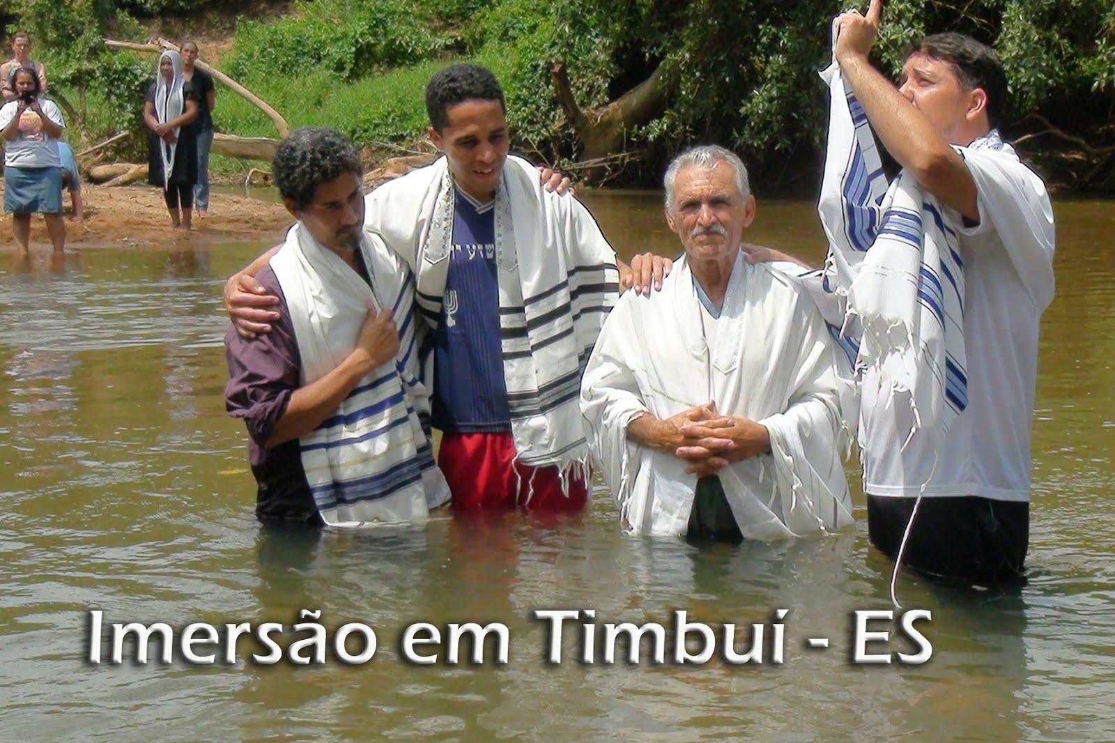 IMERSÃO MIKVEH HA TESHUVAH