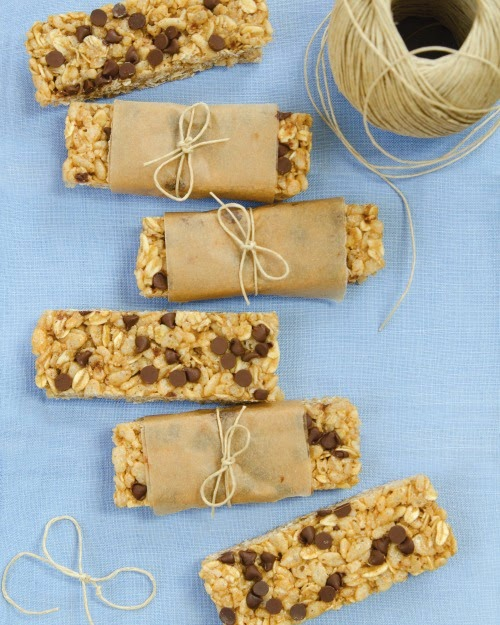 Vegan, Gluten-free No Bake Granola Bars from Dreena Burton's Plant-Powered Families