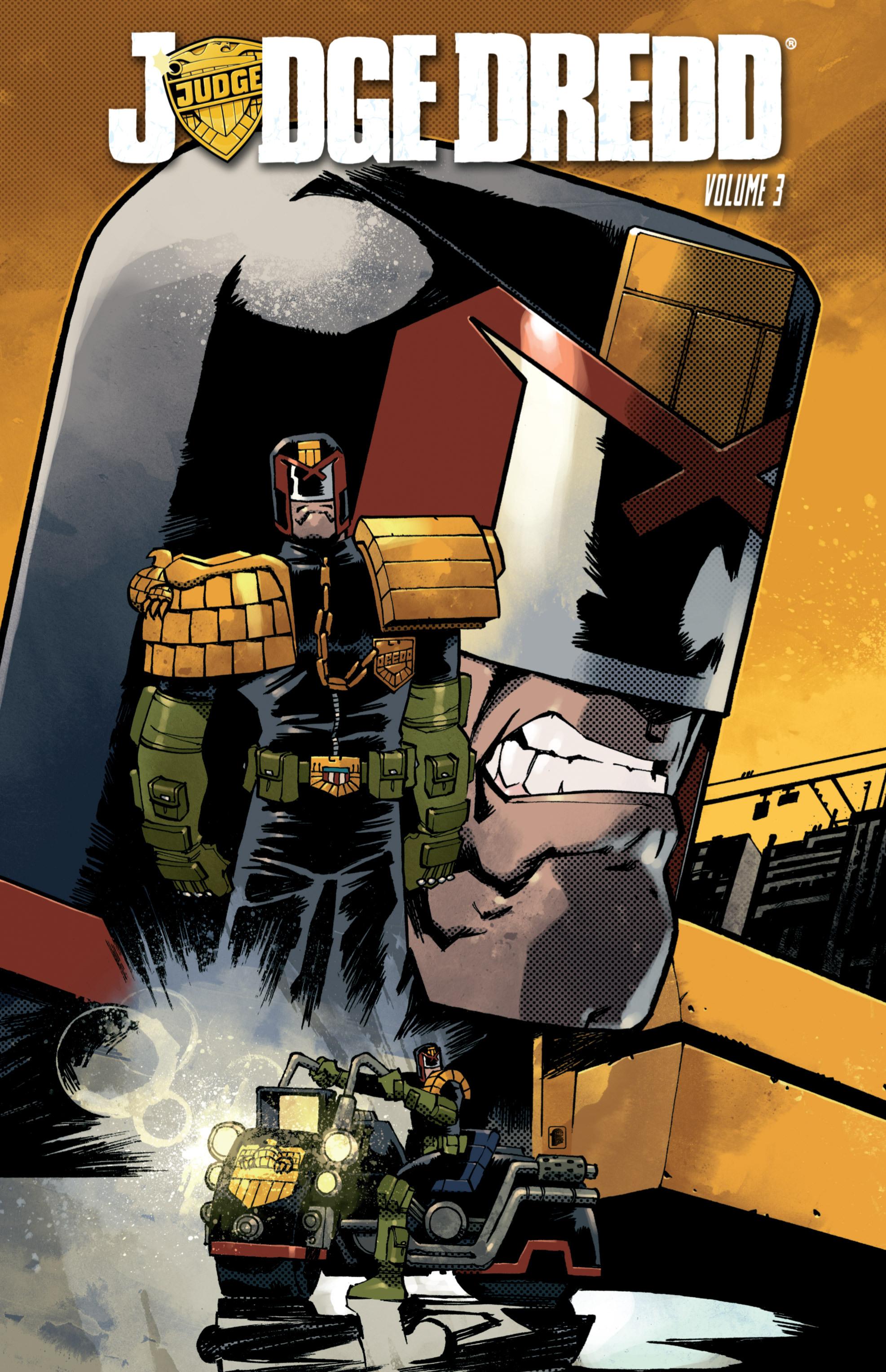 Read online Judge Dredd (2012) comic -  Issue # _TPB 3 - 1