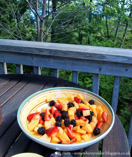 Summer fruits in Georgian Bay, Canada