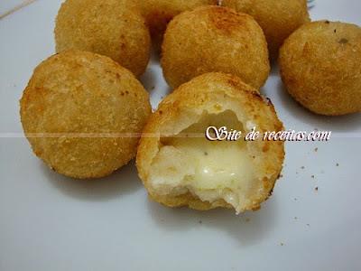 Receita de bolinha de queijo