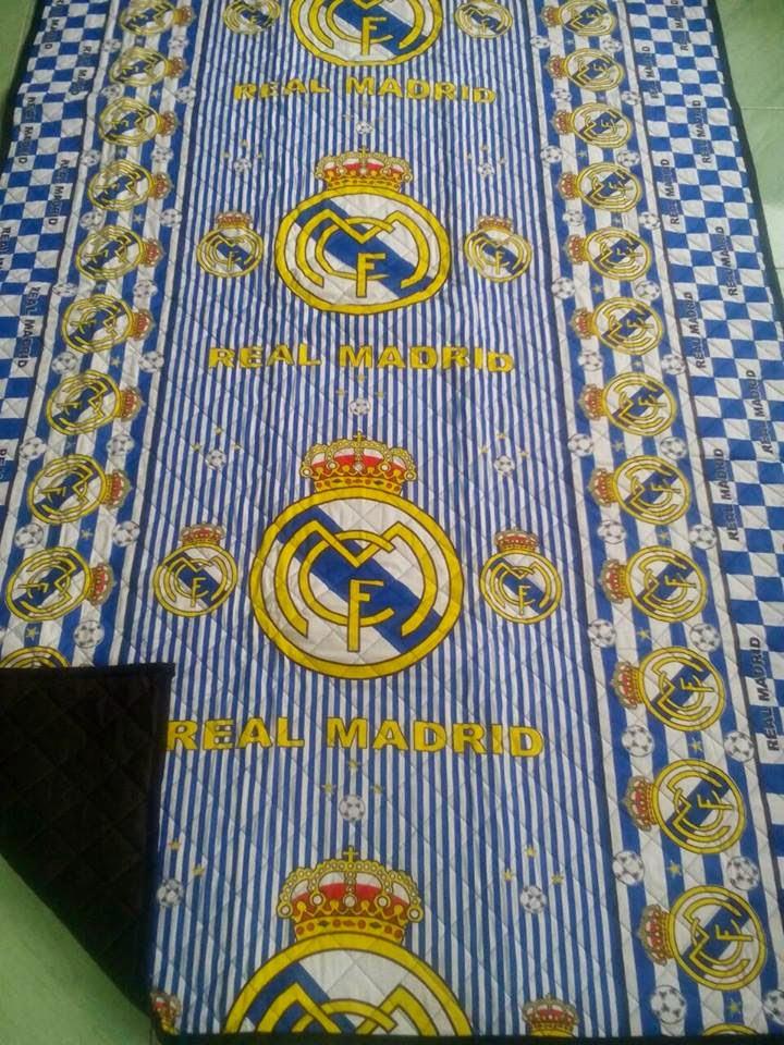 grosir tikar quilting real madrid
