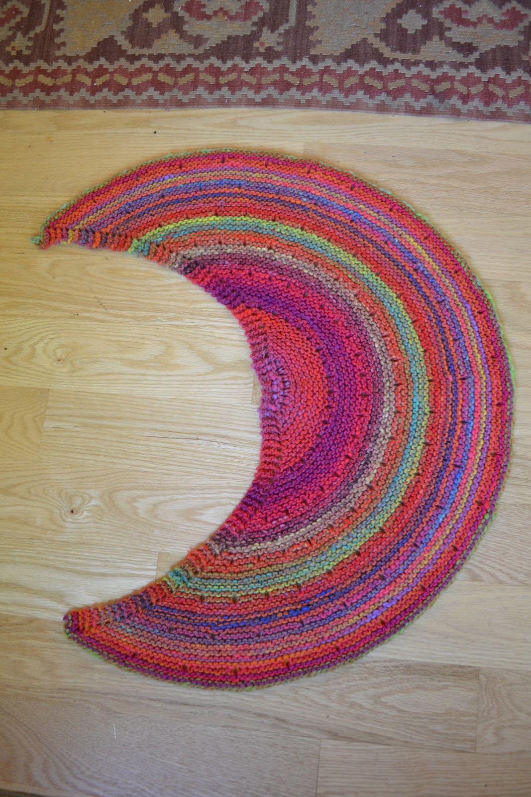 Susan B Anderson Silk Moon Crescent Or Fruit Slice To Me