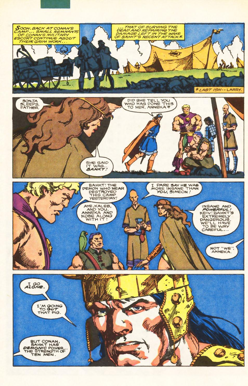 Conan the Barbarian (1970) Issue #198 #210 - English 6