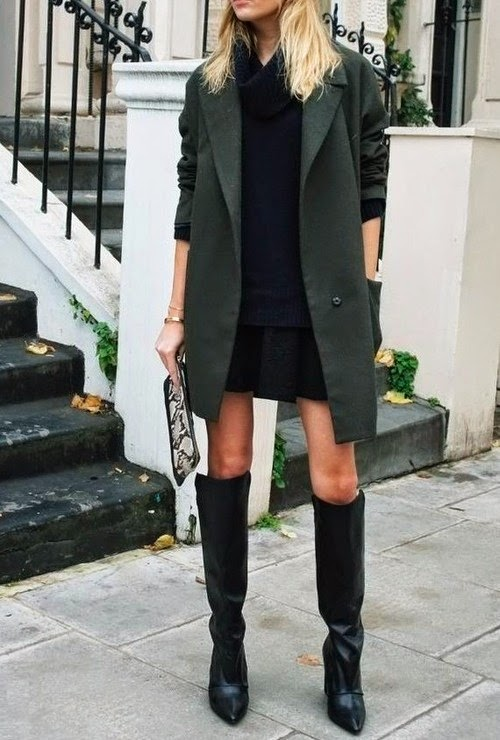 The Best Vegan Over-The-Knee Boots for Fall. Photo: refinedstyle.tumblr.com