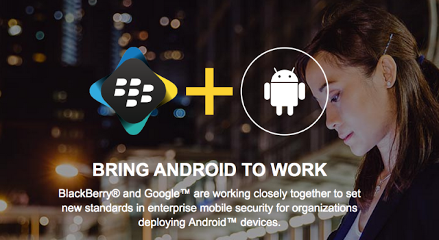 Partnership: Why BlackBerry and Google is Partners now newvijay
