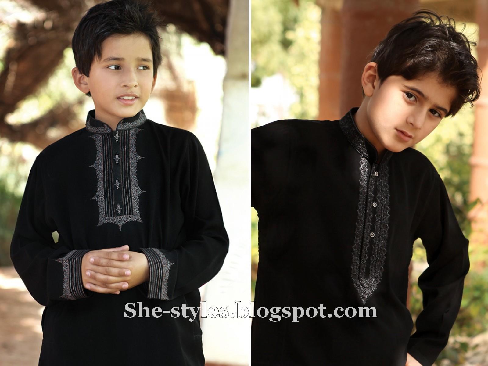 Eid kids kurta shalwar kameez designs 2013 2014 - Eden Robe Eid Kurta 2012 Eden Robe Kids Shalwar Kameez