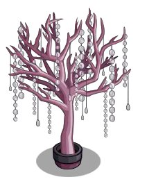 FarmvilleSharing5 Unreleased Crystal Purple and Crystal Pink Tree