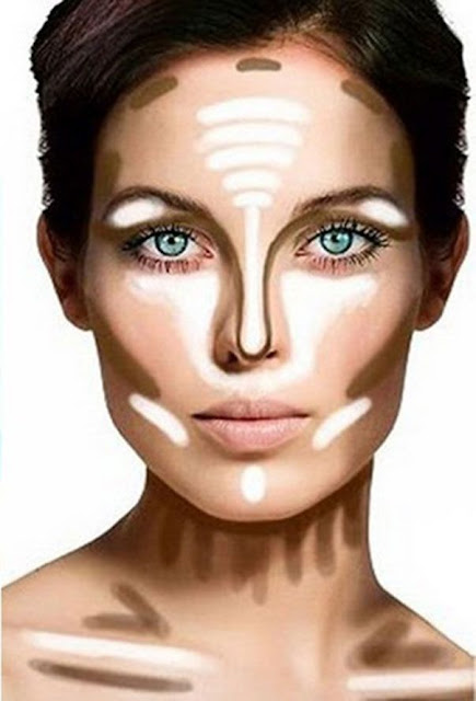 Melhorar e afinar o contorno do teu rosto com maquilhagem
