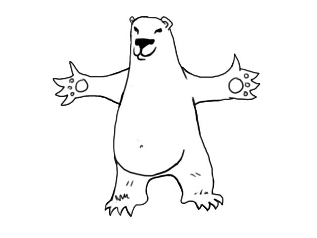 Caricaturas de osos polares - Imagui