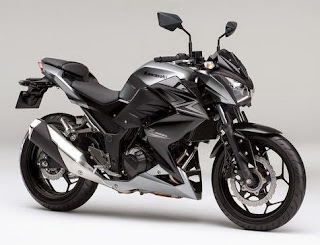 Pilihan Warna Kawasaki Z250  Tahun 2015