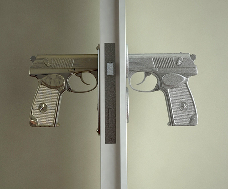 Gun Door Knobs