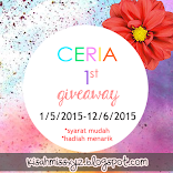 Jom Join Ceria 1st Giveaway!