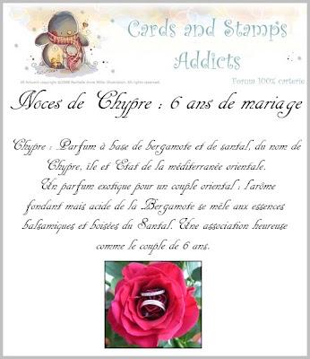 Kat 39 scrap 6 ans de mariage noces de chypre - Noce de 8 ans ...