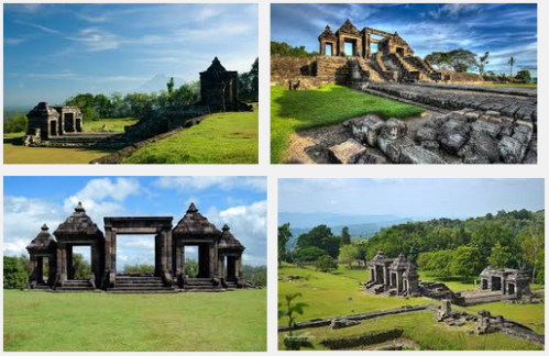 Ilustration Of Virtual Tour Of The Ratu Boko Temple