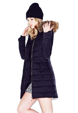 littlewoods fur hood coat