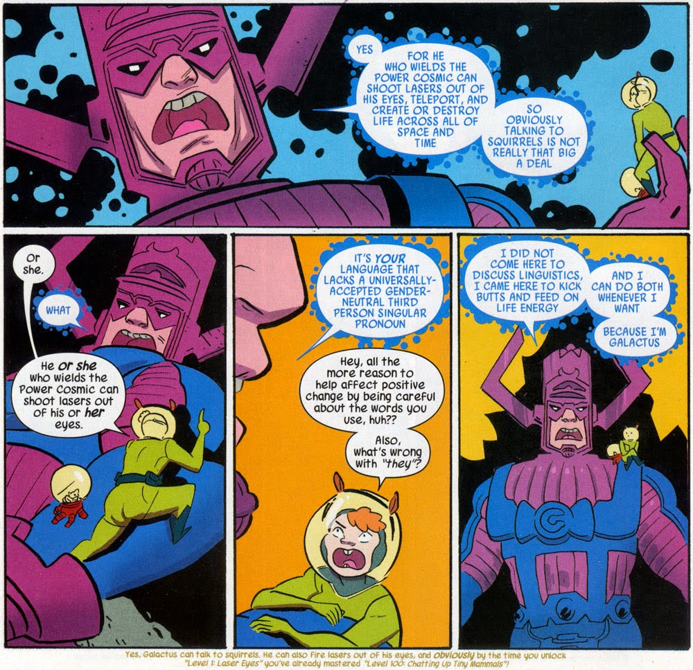 The Unbeatable Squirrel Girl vs. Galactus by Ryan North and Erica Henderson