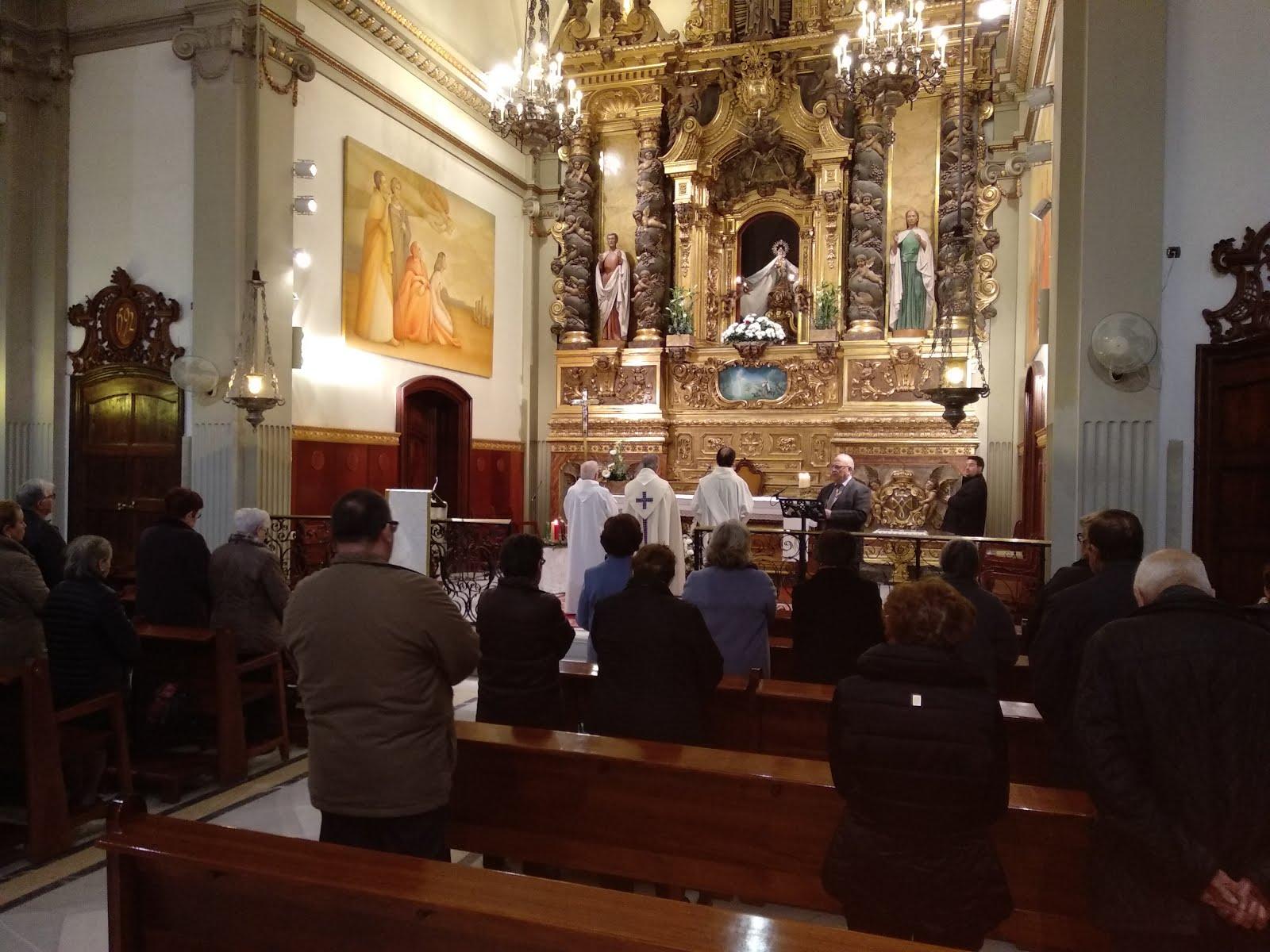 Pregària de Vespres Solemnes al Santuari per la festivitat de la Immaculda Concepció (8-12-2018)
