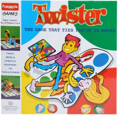 Games: Twister by Funskool (Age: 4 to 14)