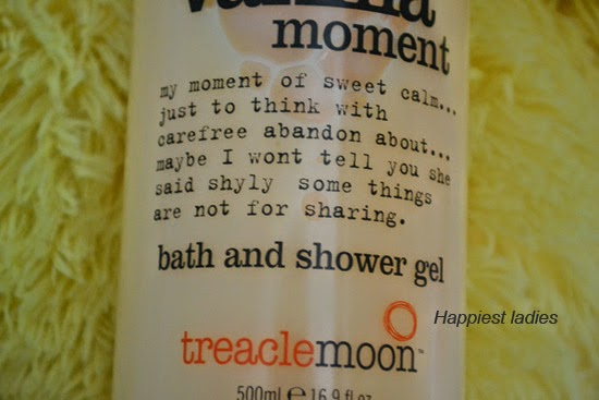 Treacle Moon That Vanilla Moment Bath & Shower Gel