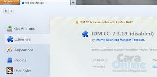 Cara update browser tanpa mengganggu IDM 1