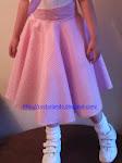 Falda años 50 disfraz