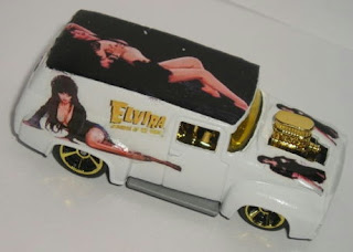 Custom Elvira Hot Wheels 1956 Ford Panel F100 truck