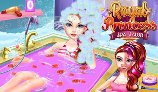 Screenshots of the Royal Princess Spa And Salon for Android tablet, phone.