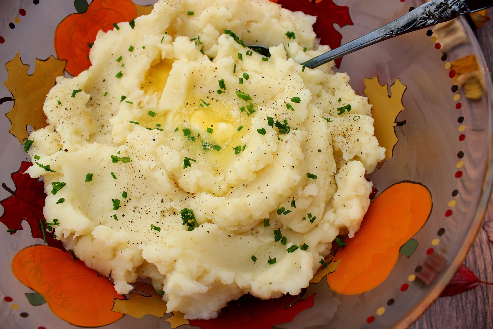 Celery Root Mashed Potato Recipe / www.kudoskitchenbyrenee.com