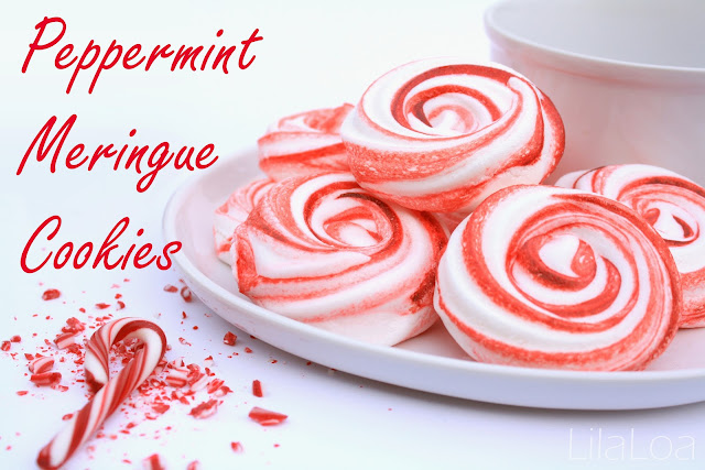Peppermint Meringue Cookies inkatrinaskitchen.com from LilaLoa # ...