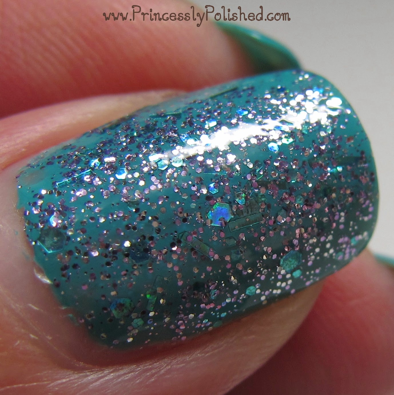 Princessly Polished: Pure Ice: Over You and Scream