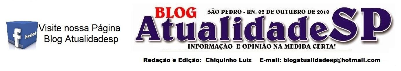 BLOG ATUALIDADE SÃO PEDRO