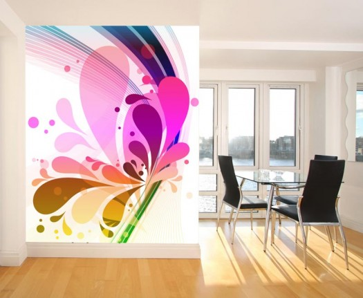 Braxton and yancey supergraphics using large scale for Window design graphics