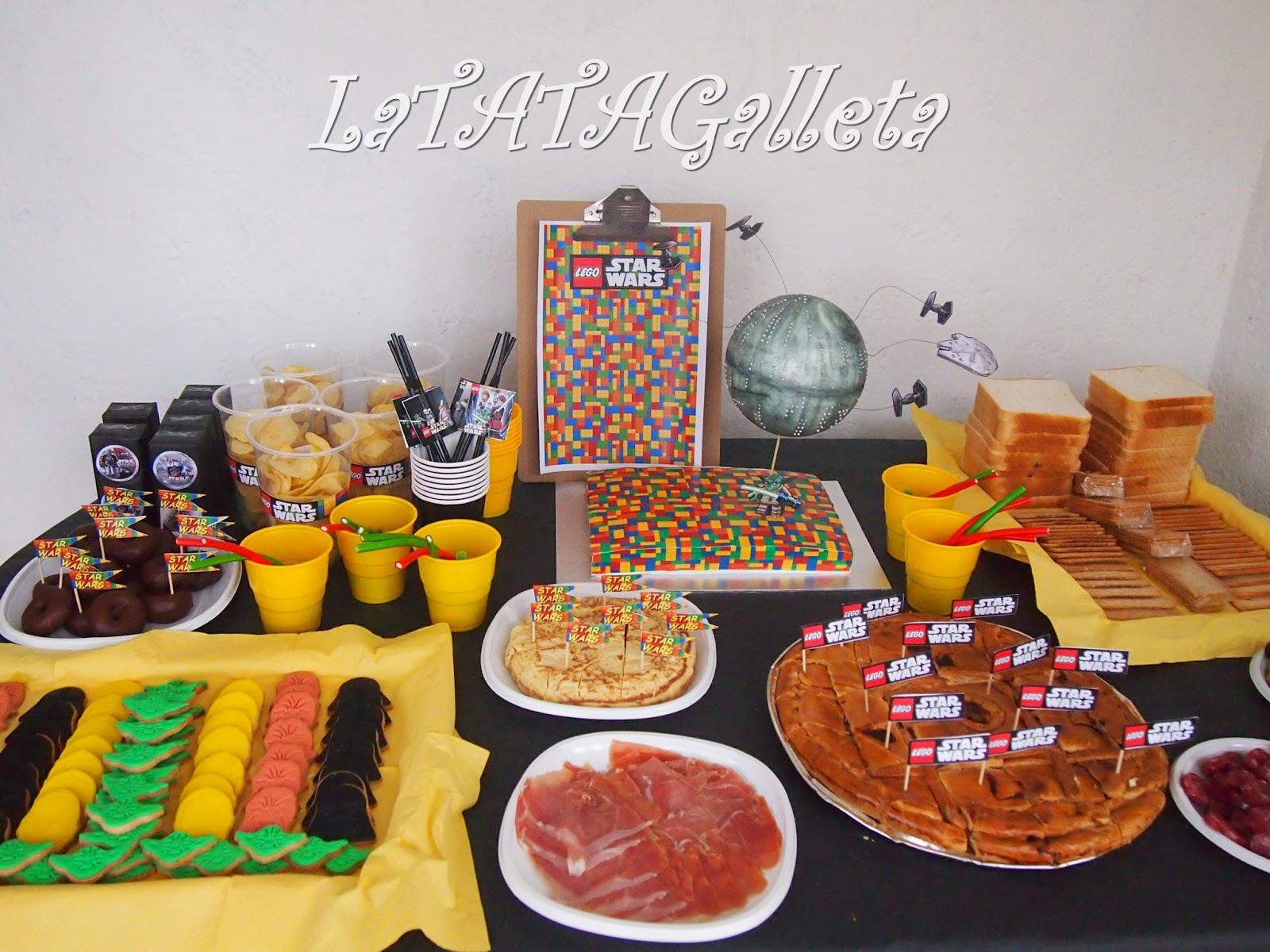 LaTATAGalleta CUMPLEAOS LEGO STAR WARS