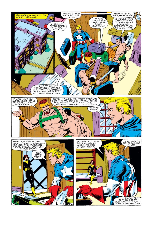 Captain America (1968) Issue #318 #246 - English 6