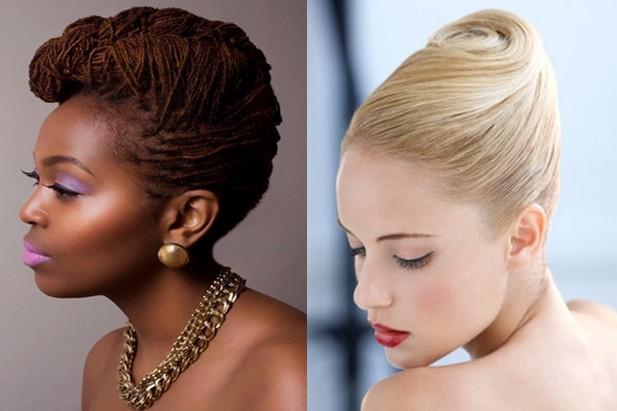 Idees-coiffure-chignon-banane-bride-intemporelle
