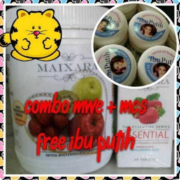 COMBO MWE + MCS FREE IBU PUTIH
