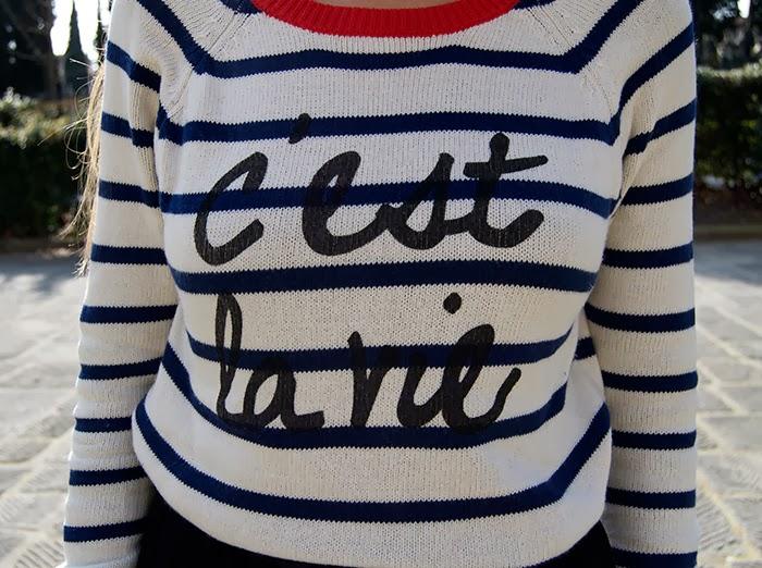 c'est le vie sweater