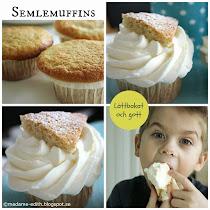 Semlemuffins - Mycket lättbakat