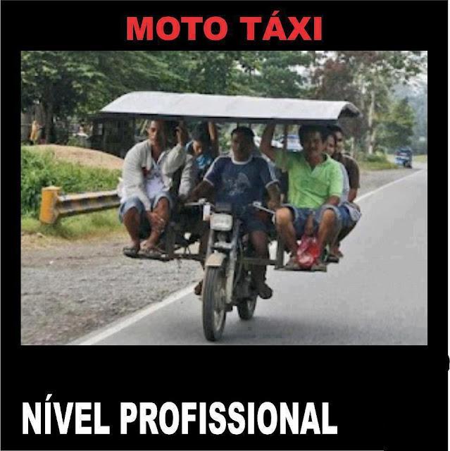 Moto Táxi Nível Profissional