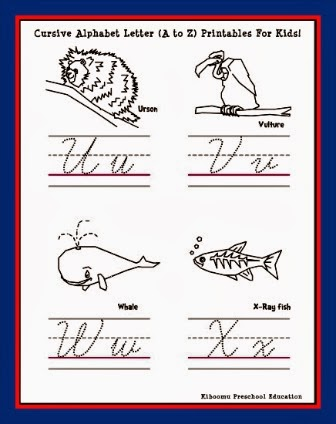 Fun Handwriting Activities