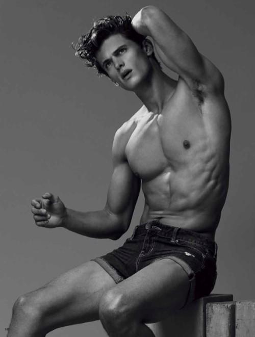 Garrett neff male model nude