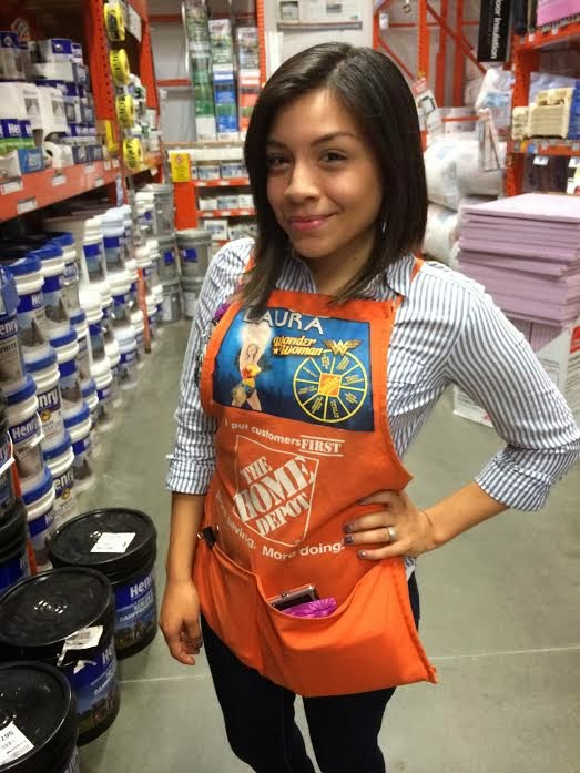 TuesdayArtGroup: Home Depot Apron On A Real Person ...
