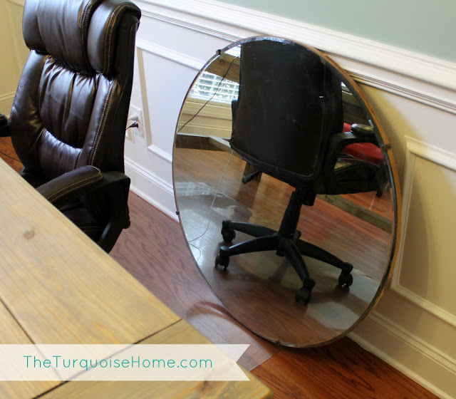 How To Hang A Heavy Mirror And Office Updates The