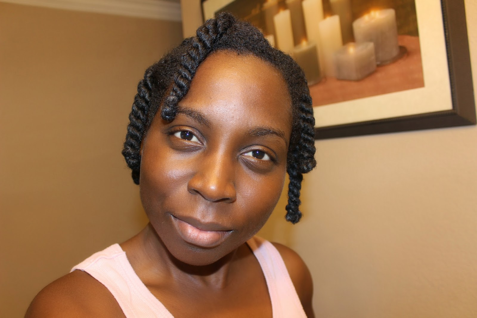 Cocoon Twists/ Bantu Loops Natural Hair
