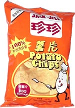 Jack and Jill Barbeque Potato Chips